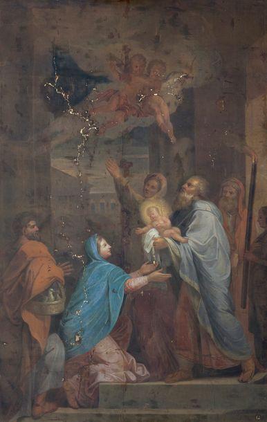 École FRANÇAISE de la fin du XVIIe siècle,...