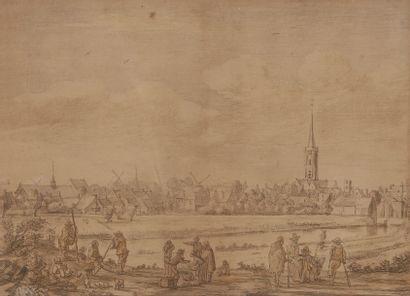 D'après Hermann Saftleven (1609-1685) Artiste...