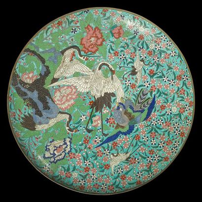 JAPON - époque MEIJI (1868 - 1912) Grand...