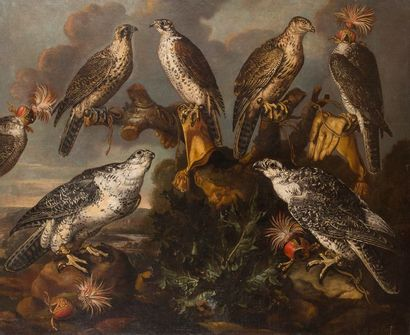 Carstian LUYCKX (Anvers 1623-1670) Equipage...