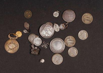 Lot de 5 pièces américaines, dans un sachet...