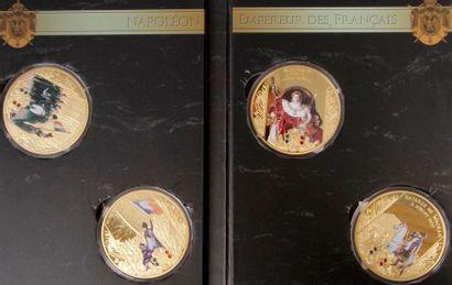 Un ensemble de médailles sur l'Empire : -...