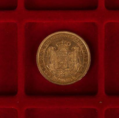 1 pièce de 40 Lires italiennes en or. 1815