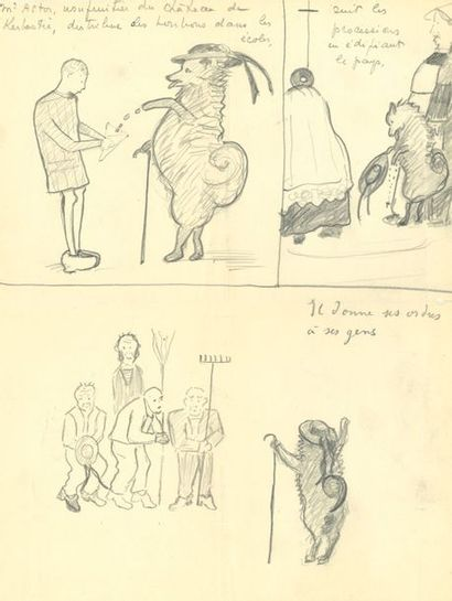 Marie-Blanche de Polignac (1897-1958). L.A.S....