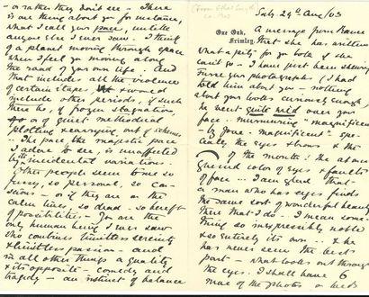 Ethel Smyth (1858-1944). L.A.S. «V.E.»,...