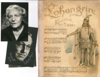 [Richard WAGNER]. 9 documents. Cosima Wagner...