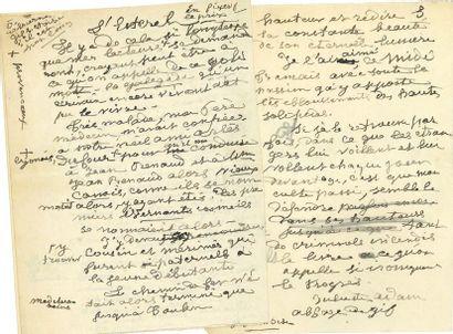 Juliette ADAM (1836-1936) femme de lettres....