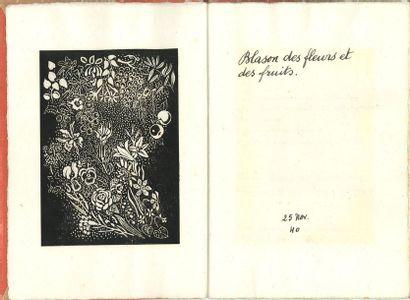 Paul ÉLUARD (1895-1952). Manuscrit autographe...