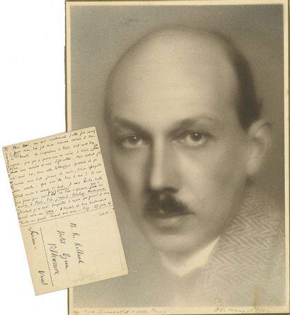 Pierre-Jean JOUVE (1887-1976). L.A.S. «PJJ»,...