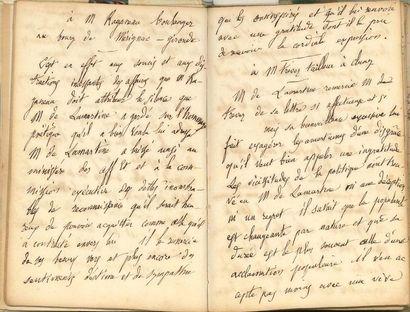 [Alphonse de LAMARTINE (1790-1869)]. Paul...