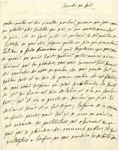 Julie de LESPINASSE (1732-1776). L.A., Samedi...