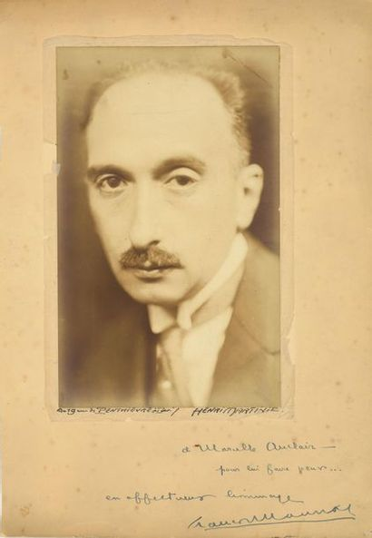 François MAURIAC (1885-1970). Photographie...