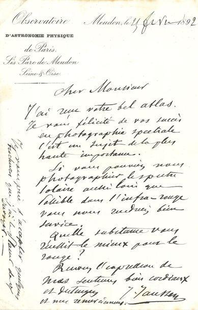 Jules Janssen (1824-1907) physicien et astronome....