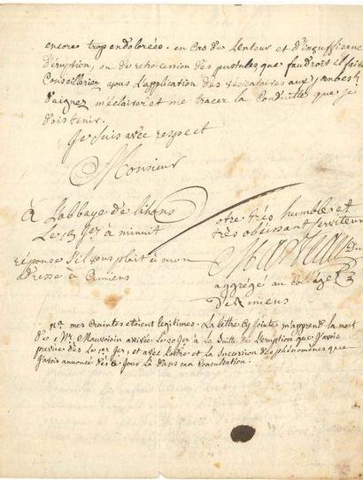 Pierre-Antoine MARTEAU (1706-1772) médecin....