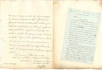 Edme Mentelle (1730-1815) géographe et historien....