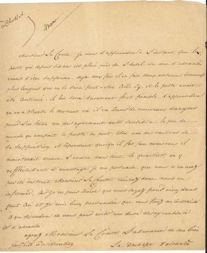 Laure Permon, duchesse d'ABRANTèS (1784-1838)...
