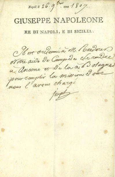 Joseph Bonaparte (1768-1844) frère aîné de...
