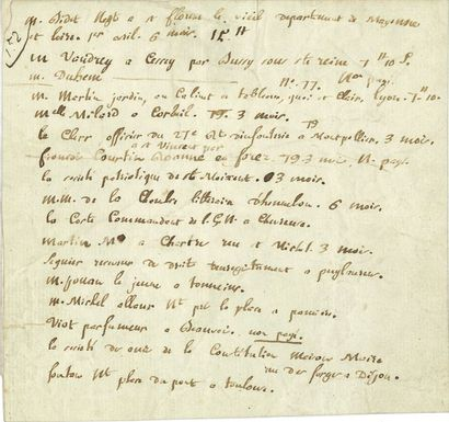 Camille DESMOULINS (1760-1794) journaliste...