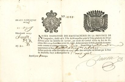 Divers. Plus de 100 lettres ou pièces, XVIIe-XIXe...