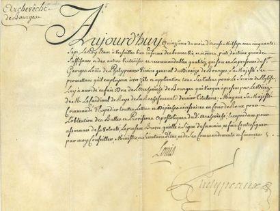 Histoire. 13 pièces, XVIe-XIXe siècle. Bail...
