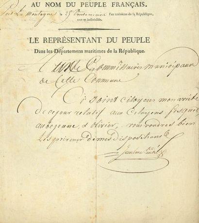 André JEANBON SAINT-ANDRÉ (1749-1813) conventionnel...