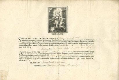 Jésuites. 2 L.S. et 1 P.S., Courtrai et Paris...