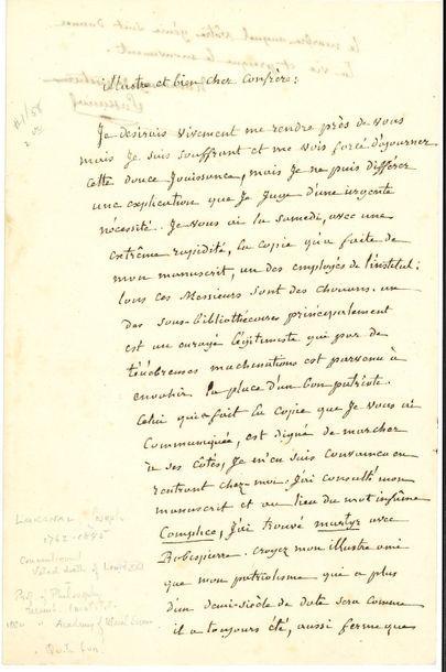 Joseph LAKANAL (1762-1845) homme politique,...