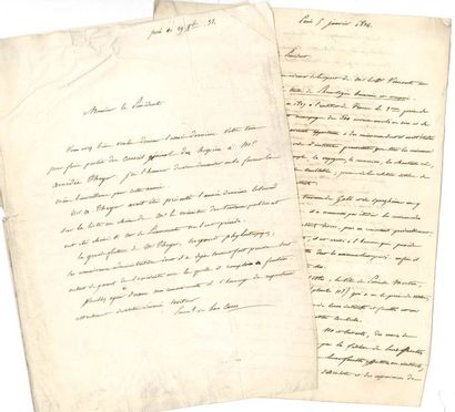 Emmanuel, comte de LAS CASES (1800-1854)...