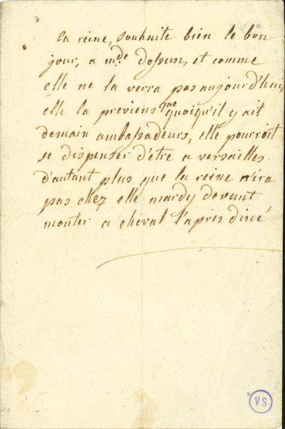 MARIE-ANTOINETTE (1755-1793) Reine de France....