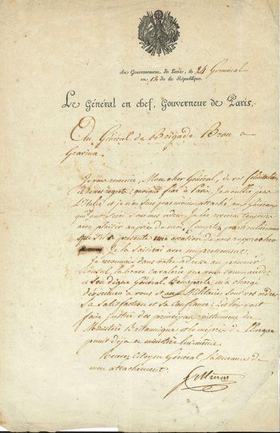 Joachim MURAT (1767-1815) maréchal d'Empire,...