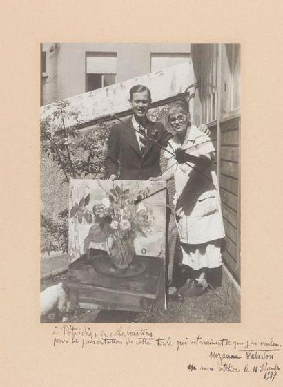 Suzanne VALADON (1865-1938). Photographie...