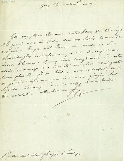Emmanuel-Joseph Sieyès (1748-1836) député...