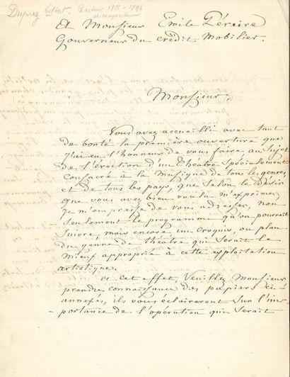 Gilbert DUPREZ (1806-1896) le grand ténor....