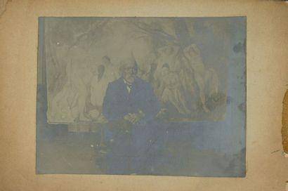 [Paul Cézanne (1839-1906)]. Photographie...