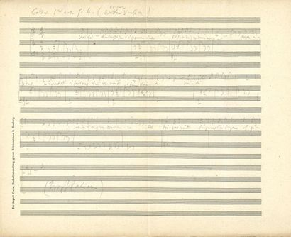 Charles GOUNOD. Manuscrits musicaux autographes,...