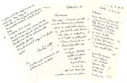 Michel Ciry (1919-2018). 72 L.A.S., [Paris],...