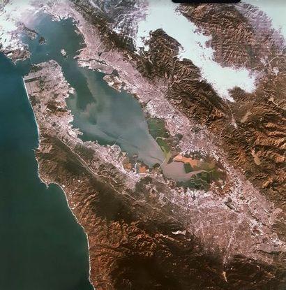 NASA Landsat-4, 31 décembre 1982. Vue de...