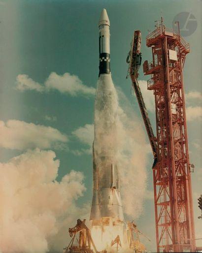 NASA Gemini 6, 25 octobre 1965. Décollage...