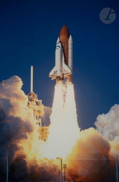 NASA Mission STS-99 Endeavour, 2000. Décollage...