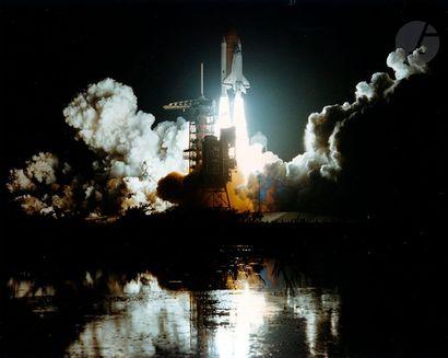 NASA Missions STS-81 et STS-84 Atlantis, 1997. Décollages de la navette spatiale....