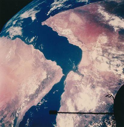 NASA Gemini 11, 17 septembre 1966. Vue de...