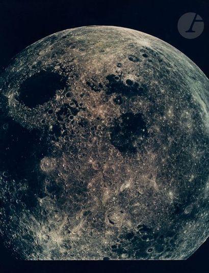 NASA Apollo 8, 24 décembre 1969. Vue de la...