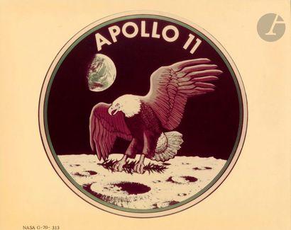 NASA Apollo 11, juillet 1969. Emblème de...