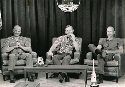 NASA Apollo 11, 14 juillet 1969. Neil Armstrong,...