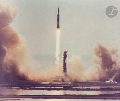 NASA Apollo 11, 16 juillet 1969, 9.32 a.m....