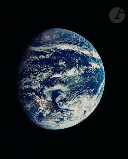 NASA Apollo 11, 16-24 juillet 1969. Vue de...