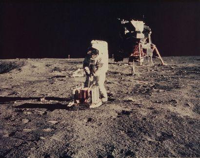 NASA Apollo 11, 21 juillet 1969. Buzz Aldrin...