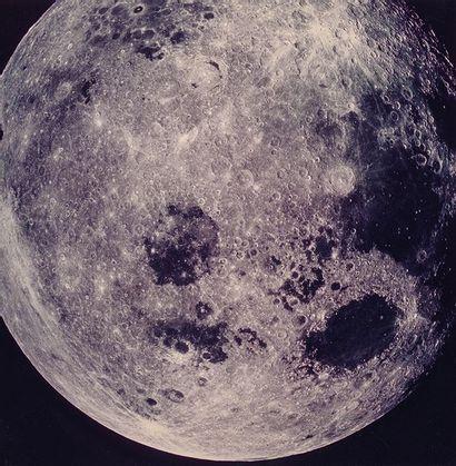 NASA Apollo 11, 1969. Surface lunaire. Épreuve...