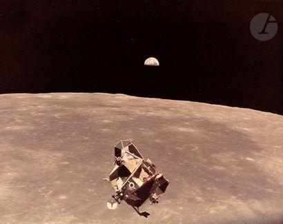NASA - Michael Collins Apollo 11, 21 juillet...