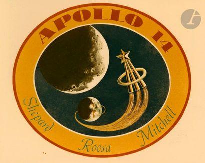 NASA Apollo 14, 30 septembre 1970. Emblème...